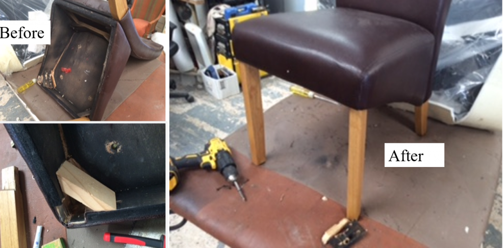 Chair Repaired